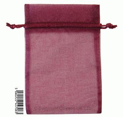 Eleganza bags 12cm x 17cm (10pcs) Aubergine No.32 - Gift Boxes / Bags