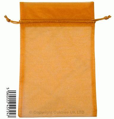 Eleganza bags 15cm x 22.5cm (10pcs) Copper No.23 - Gift Boxes / Bags