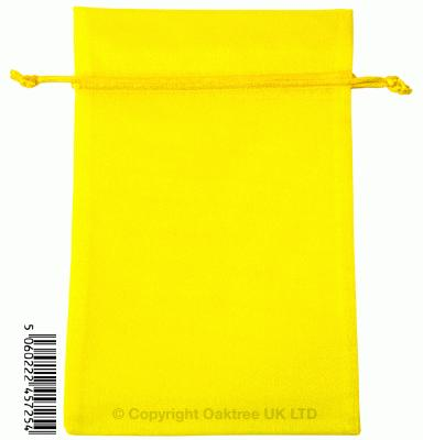 Eleganza bags 15cm x 22.5cm (10pcs) Yellow No.11 - Gift Boxes / Bags