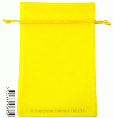 Eleganza bags 15cm x 22.5cm (10pcs) Yellow No.11 - Gift Boxes / Bags