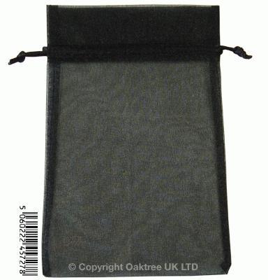 Eleganza bags 15cm x 22.5cm (10pcs) Black No.20 - Gift Boxes / Bags