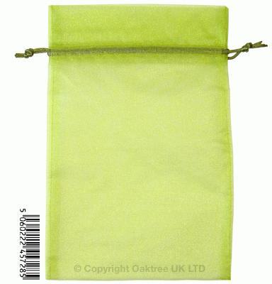 Eleganza bags 15cm x 22.5cm (10pcs) Pistachio No.27 - Gift Boxes / Bags