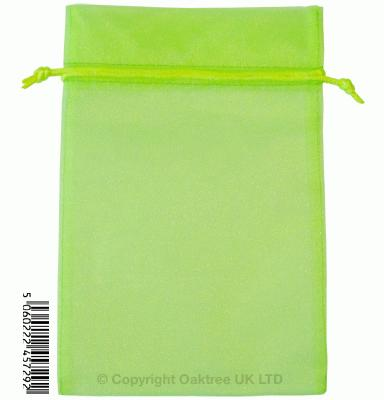 Eleganza bags 15cm x 22.5cm (10pcs) Lime Green No.14 - Gift Boxes / Bags