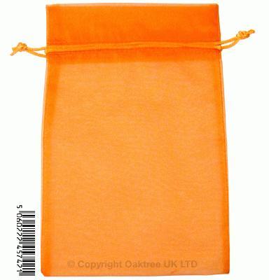 Eleganza bags 15cm x 22.5cm (10pcs) Orange No.04 - Gift Boxes / Bags