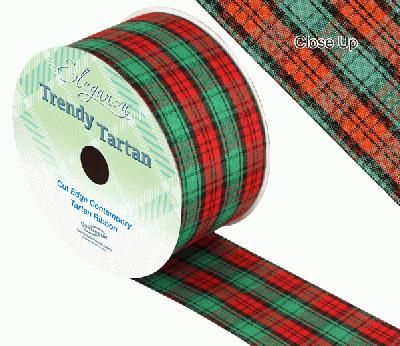 TrendyTartan Pattern 252 50mm x 20m - Ribbons