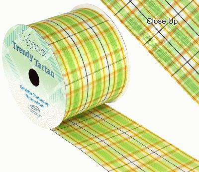 TrendyTartan Pattern 254 70mm x 20m - Ribbons