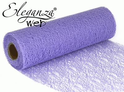 Eleganza Web Fabric roll 28cm x 10m Lavender No.45 - Organza / Fabric