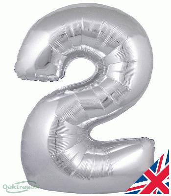 Oaktree Silver 2 - Foil Balloons