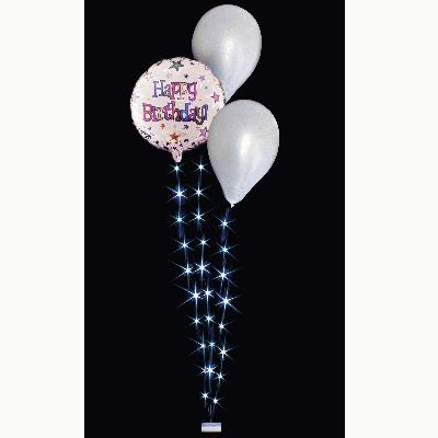 BalloonLite Triple Set White - L.E.D Lights