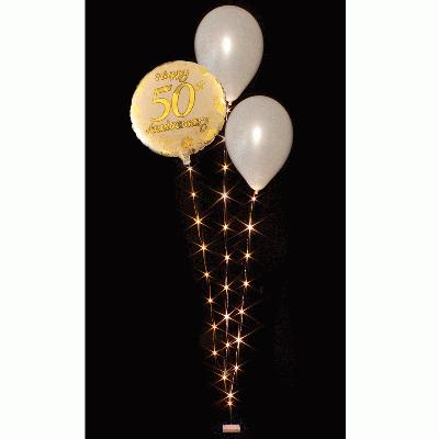 BalloonLite Triple Set Warm White - L.E.D Lights