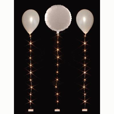 BalloonLite 10 Set Warm White - L.E.D Lights