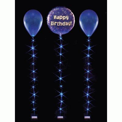 BalloonLite 18 Set Blue - L.E.D Lights