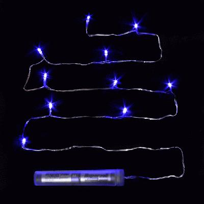 Décor Lites Submersible 10 Light Set Blue - L.E.D Lights