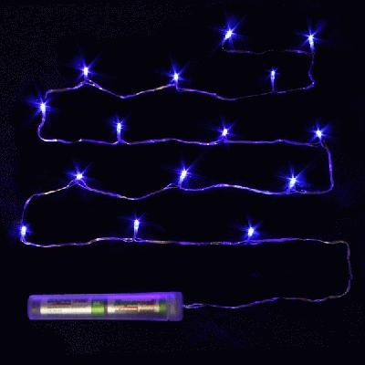 Décor Lites Submersible 15 Light Set Blue - L.E.D Lights