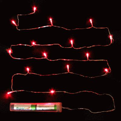 Décor Lites Submersible 15 Light Set Red - L.E.D Lights