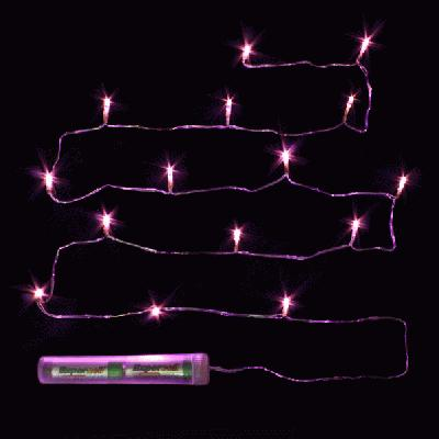 Décor Lites Submersible 15 Light Set Pink - L.E.D Lights