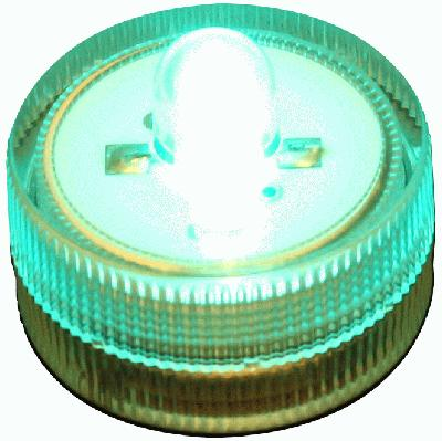 Décor Lites® SubLites Teal x 10pcs - L.E.D Lights