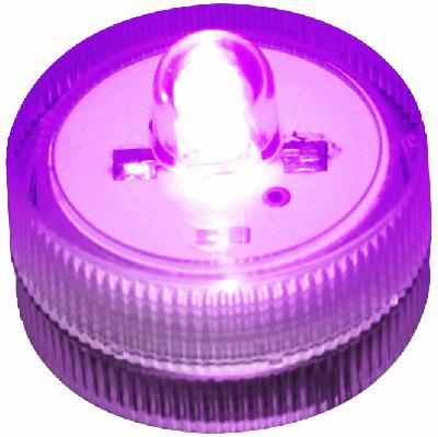 Décor Lites® SubLites Purple x 10pcs - L.E.D Lights