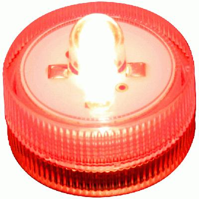 Décor Lites® SubLites Red x 10pcs - L.E.D Lights