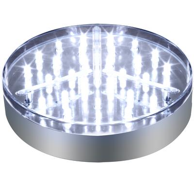 "6"" Silver BaseLite™ 31 Super Bright LED White - L.E.D Lights"