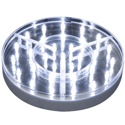 "8"" Silver BaseLite™ 31 Super Bright LED White - L.E.D Lights"