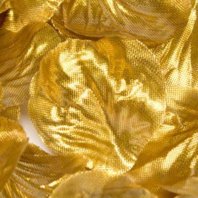 Eleganza Rose Petals - Metallic Gold 164pcs - Accessories