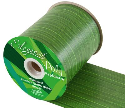 Eleganza Poly Ribbon Aspidistra 100mm x 50yds Mint - Ribbons