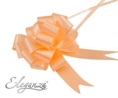 Eleganza Poly Pull Bows 30mm x 30pcs Peach No.05 - Pullbows