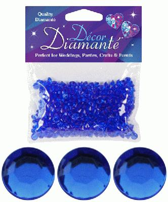 Décor Diamanté™ 6mm 28g bag, Sapphire Blue - Accessories