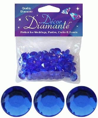 Décor Diamanté™ 12mm 28g bag, Sapphire Blue - Accessories