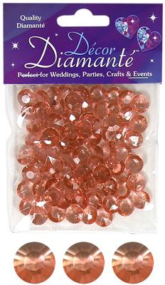 12mm Décor Diamante Diamonds 28g No.87 Rose Gold - Accessories