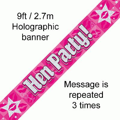 Hen Party! - Banners & Bunting