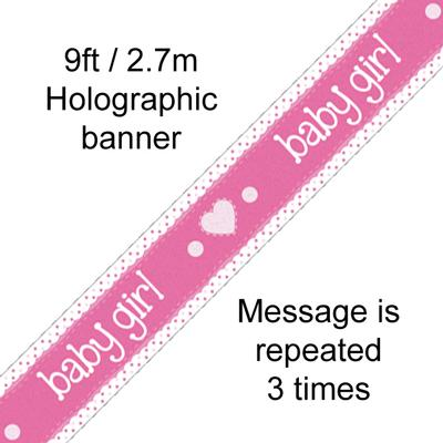 Baby Girl - Banners & Bunting