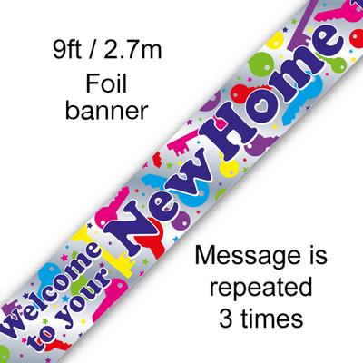 Welcome to your New Home - Banners & Bunting