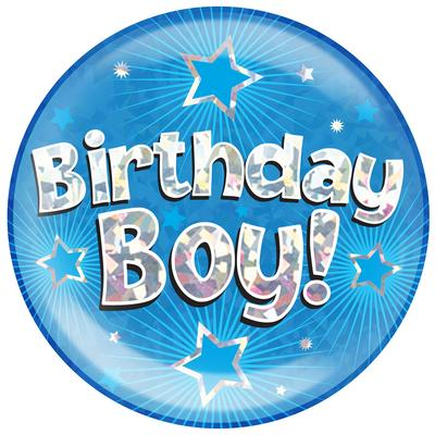 Oaktree Jumbo Badge - Birthday Boy - Jumbo Badges