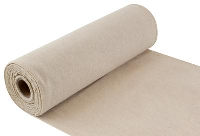 Eleganza Woven Edge Linen Stitched edge 29cm x 9.1m Natural No.02 - Organza / Fabric