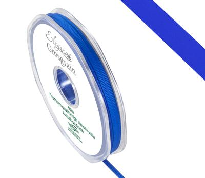 Eleganza Premium Grosgrain Ribbon 3mm x 40m Royal Blue No.18 - Ribbons