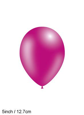 Decotex Pro 5inch Fashion Solid No.28 Fuchsia x100pcs - Latex Balloons