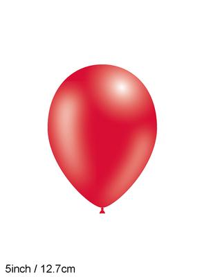 Decotex Pro 5inch Fashion Solid No.16 Red x100pcs - Latex Balloons