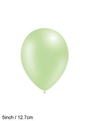 Decotex Pro 5inch Fashion Solid No.83 Pastel Green x100pcs - Latex Balloons