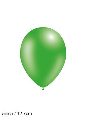 Decotex Pro 5inch Fashion Solid No.50 Green x100pcs - Latex Balloons
