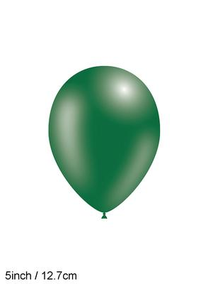 Decotex Pro 5inch Fashion Solid No.84 Forest Green x100pcs - Latex Balloons