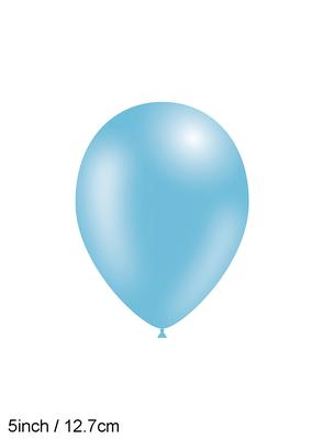 Decotex Pro 5inch Fashion Solid No.25 Lt Blue x100pcs - Latex Balloons