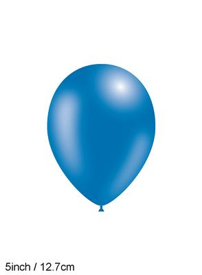 Decotex Pro 5inch Fashion Solid No.85 Blue x100pcs - Latex Balloons