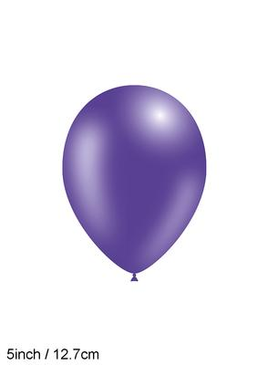 Decotex Pro 5inch Fashion Solid No.36 Purple x100pcs - Latex Balloons
