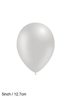 Decotex Pro 5inch Fashion Solid No.81 Grey x100pcs - Latex Balloons