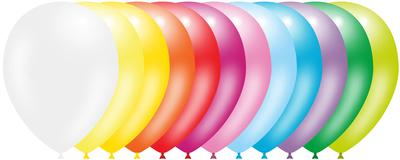 Decotex Pro 11inch Fashion Solid Assorted x50pcs - Latex Balloons
