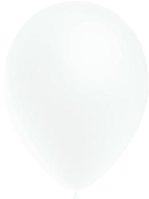 Decotex Pro 11inch Fashion Solid No.01 White x50pcs - Latex Balloons