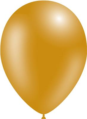 Decotex Pro 11inch Metallic No.35 Gold x50pcs - Latex Balloons