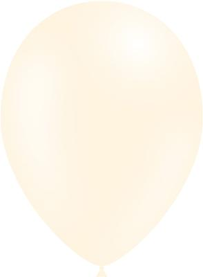 Decotex Pro 11inch Metallic No.61 Ivory x50pcs - Latex Balloons